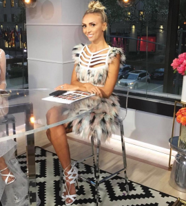Barbizon alum Giuliana Rancic hosted Live From the Red Carpet The 2017 MET GALA
