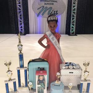 Barbizon alum Laila Simone was crowned 2019 International Junior Miss Texas Jr. Princess