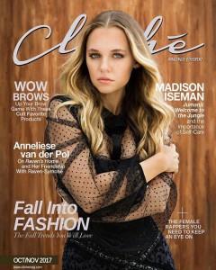 Barbizon alum Madison Iseman booked the cover of Cliche magazine