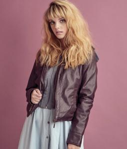 Barbizon alum Maya modeled for Jou Jou in Girls' Life Magazine