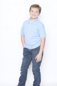 Barbizon alum Sean M. auditioned for a Lazy Boy campaign and Blue Cross Blue Shield commercial through BNA Kids and Top Talent