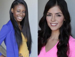 Barbizon alumni Baiynah Flanagan and Marisa Hernandez signed with Exccel Models & Talent and booked a SpeedZone commercial