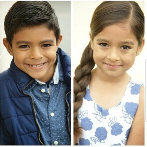 Barbizon alumni Rafael and Daralin Garcia booked a commercial for Walmart