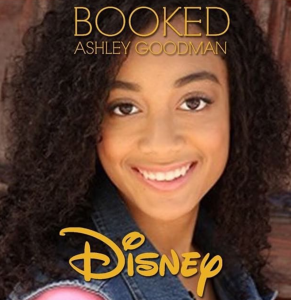 Barbizon grad Ashley Goodman booked a campaign for shop Disney Parks. She is signed with of Exxcel Model and Talent