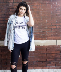 Barbizon grad Aubree Nolfe modeled for Four Eight Shop's new fall fashion line