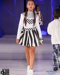 Barbizon grad Destiny walked in New York Fashion Week