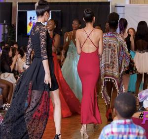 Barbizon graduate Esther walked the runway in New York Fashion Week