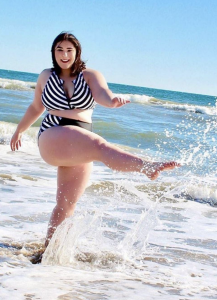 Barbizon of North Virginia alum Leah Graifer modeled for Swimsuits For All