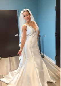 Barbizon of Red Bank models attended a go see was for a bridal photo shoot