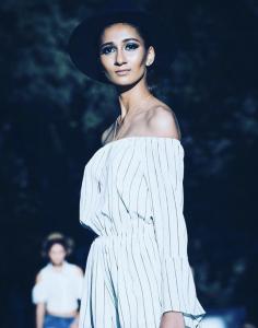Barbizon of Sacramento grad Jahnavi Atluri walked in Sacramento Fashion Week. She is signed with Manikin Agency