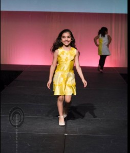 Bella, Barbizon Red Bank model, walked the runway in the Ready to Wear Fashion Show