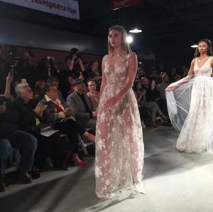 Brittney Smith, Barbizon Southwest grad, walked for Allison Nicole Designs at Denver Fashion Week