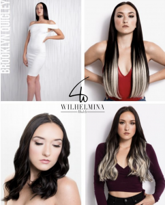 Brookly Quigley, Barbizon of Salt Lake City alum, signed with Wilhelmina Models in New York