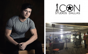 Christopher Rodriguez signed with Icon Studios Dallas and has already begun filming the lead role for a short film