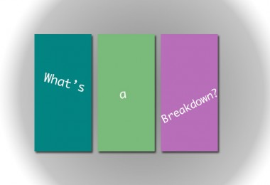 Breakdown and Sides: What Does it Mean!?