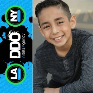 Damian Chavez, Barbizon Socal grad, signed with DDO Artists Agency