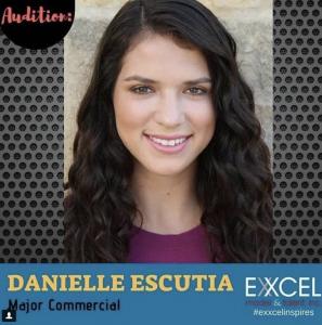 Danielle Escutia, Barbizon of Austin graduate, signed with Exxcel Model & Talent