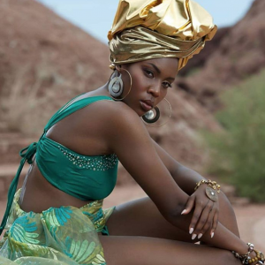 Diana Muturia, Barbizon Southwest alum, modeled for a LagosPhx Boutique campaign