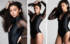 Donna Wegert, Barbizon of San Antonio alum, modeled for Sleeque Mystique