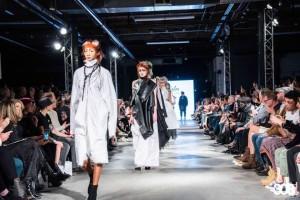 Eileen Shehan, Barbizon Southwest grad, walked in Denver Fashion Week for El Salon & Ammunition Couture