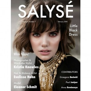 Eleanor Schmit - Cover Salyse Magazine
