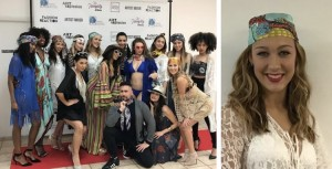 Erin Cabral, Barbizon of Orlando graduate, walked for Posche Models International