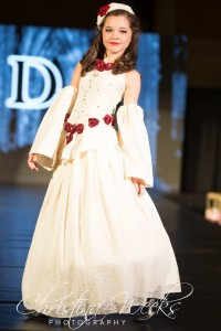 Erin Graham, Barbizon Nova alum, walked in New York Fashion Week for the Society Show for the designer De Lorraine