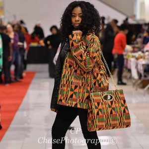 Genesis Maryah, Barbizon PA alum, modeled for Shirley's Closet