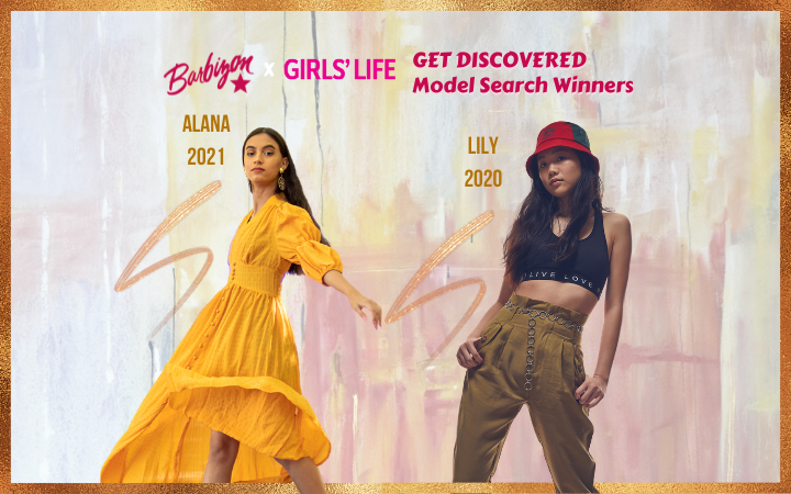 Meet the Winners: Alana & Lily, Barbizon x Girls' Life Get Discovered 2020 & 2021 Contest