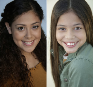 Giselle and Yesenia Bautista, Barbizon Socal grads, signed with Rage Models and Talent Agency