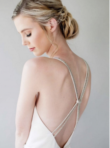 Hailey White, Barbizon of New Orleans grad, modeled for Elle James Bridal