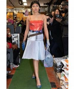 JelAii, Barbizon Socal grad, walked the runway in New York Fashion Week