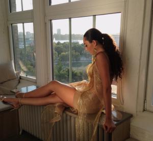 Jenny Lee Mas, Barbizon Red Bank alum, walked in New York Fashion Week