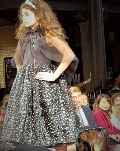Jillian Donia, Barbizon PA alum, walked in New York Fashion Week for Wonderland