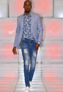 Joab, Barbizon Manhattan grad, walked the runway in Bronx Fashion Week