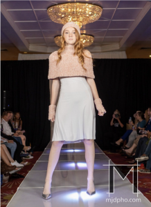 Jocelyn Charles, Barbizon of Tampa grad, signed with Modern Muse Orlando and walked in New York Fashion Week for Coastal Fashion Week1
