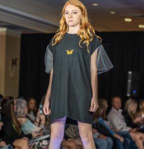 Joci Chase, barbizon Tampa alum, walked in Coastal Fashion Week in New York
