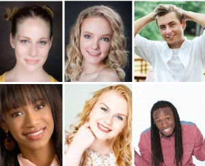 Jonathan, Victoria, Mario, Graci, Jalyn, Hannah, Barbizon St. Louis models were booked for a a print video commercial campaign