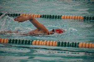 Photo of Kaesyn swimming