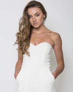 Karis, Barbizon Tampa alum, modeled for Exalte Magazine