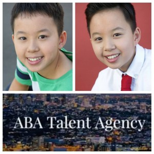 Kevin and Michael Nguyen, Barbizon Socal grads, signed with ABA Talent Agency Lost Angeles