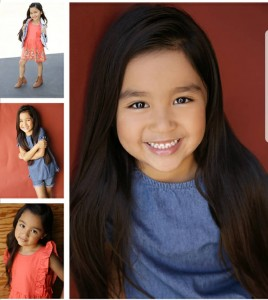 Kylie Vance, Daniella Soto, Hector Arzola & Rayzel Garcia, Barbizon Socal grad, signed with Mavrick Artists Agency
