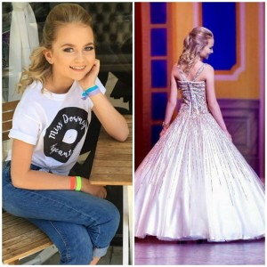 Lainee Rhodes, Barbizon Socal alum, was crowned Junior Miss Downey 2018