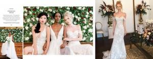 Lauren Allen, Barbizon of Orlando alum, appeared in a bridal editorial in Munaluchi Bride Magazine shot at the Versace Mansion in Miami