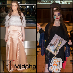 Lauren walked in Coastal Fashion Week for Tiny Designs LLC and New York Fashion Week for PimComedy