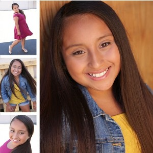 Leylanie Gonzalez, Barbizon Socal grad, signed with Littman Talent - Kids & Teens
