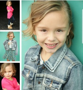 Lyla McGinley signed with HRi Talent Agency