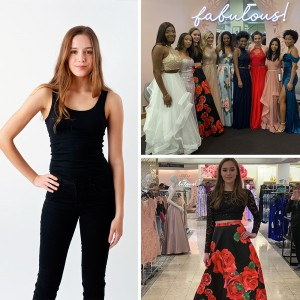 Madeline McEntire, Barbizon of Atlanta grad, walked in Macy's Prom Fashion Show in Atlanta, GA and will be participating in Coastal Fashion Week New York in September 2019