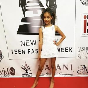 Madison Jaydee walked in New York Fashion Week