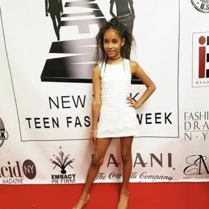 Madison Jaydee walked in New York Fashion Week